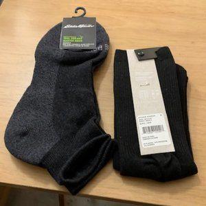 Eddie Bauer/Richer Poorer Women's Socks 5-10 NWT